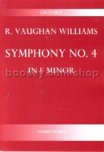 Symphony No. 4 in F minor (study score)