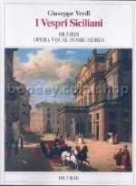 I Vespri Siciliani - Italian Vocal Score (Softcover)