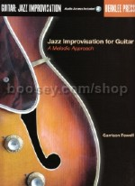 Jazz Improvisation for Guitar: A Melodic Approach Book & CD