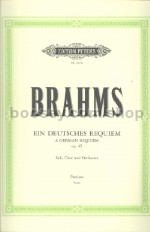 Ein Deutsches Requiem Op 45 (full score)