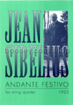 Andante Festivo for string quartet (score & parts)