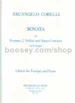 Sonata In D Trt/Piano Reduction