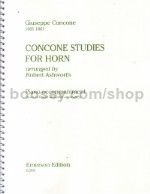 Studies For Horn (piano accompaniments)