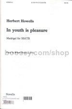 In Youth Is Pleasure (SSATB)