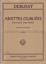 Ariettes Oubilees  High Voice Fr/eng