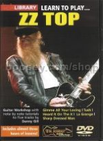 Learn To Play . . . ZZ Top (Lick Library series) DVD