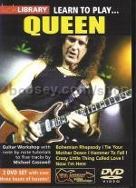 Learn To Play . . . Queen (Lick Library series) DVD