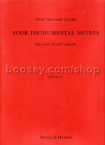 Four Instrumental Motets