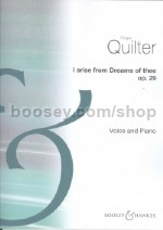 I Arise from Dreams of Thee, op. 29 (Voice & Piano)