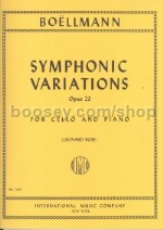 Symphonic Variations Op. 23 Vc/Piano