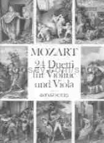 24 Duets Violin /vla CPart From Magic Flute &