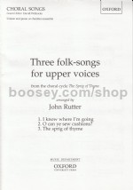 3 Folk Songs For Upper Voices From Sprig
