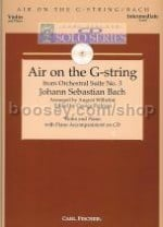 Air On The G String Violin/Piano CD Solo Series