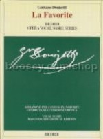 La Favorita - Vocal Score (Softcover)