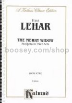 Merry Widow Vocal Score
