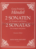 Two Sonatas for trumpet & piano