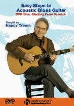 Easy Steps To Acoustic Blues Guitar: 1 - Starting From Scratch (DVD)