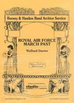 Royal Air Force March Past Wind Band Card Set