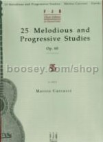 25 Melodious And Progressive Studies Op. 60