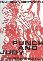 Punch & Judy Vocal Score