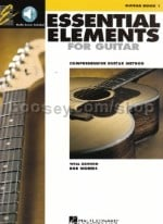 Essential Elements for Guitar Book 1 (Book & CD)