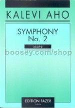 Symphony No. 2 for orchestra (study score)