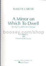 A Mirror On Which To Dwell Score