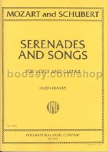 Serenades & Songs for Voice & Guitar