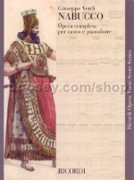 Nabucco - Italian Vocal Score (Softcover)