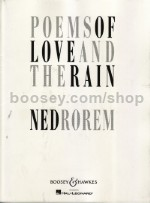Poems of Love and the Rain - mezzo & piano