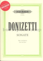 Flute Sonata in C major (with CD)