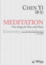 Meditation 2 Songs For Voice & Piano