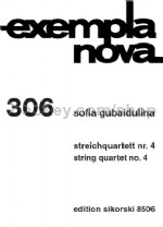String Quartet No 4 Score & Parts