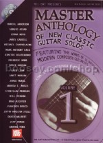 Master Anthology of New Classic Guitar Solos 1 (Book & CD)
