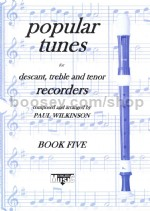 Kirklees Recorder Trios Book 5 Popular Tunes