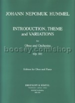 Introduction Theme & Variations Ob/Piano