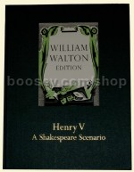 Henry V Shakespeare Scenario Full Score (William Walton Edition 23)