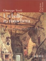 Un Ballo In Maschera - Vocal Score (Softcover)