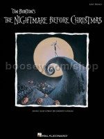 Nightmare Before Christmas - Easy Piano