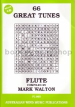 66 Great Tunes For Flute (Book & CD)