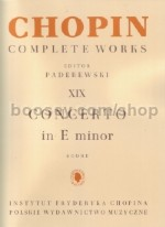 Complete Edition vol.19: Piano Concerto No.1 in Emin Op. 11