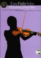 Solo Debut Pop Hits Easy Playalong Violin (Book & CD)
