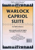 Capriol Suite for Orchestra Score & Parts