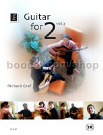 Guitar for 2 Vol.3 - Guitar Duets (Book & CD)