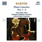 Piano Concertos Nos. 1, 2 & 3 (Naxos Audio CD)