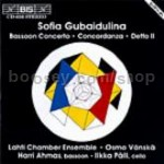 Bassoon Concerto/Concordanza for chamber ensemble/Detto II for cello and chamber ensemble (BIS Audio