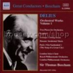 Orchestral Works vol.1 (Beecham) 1927-1934 (Naxos Historical Audio CD)