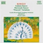 Galanta Dances/Marosszek Dances/Peacock Variations (Naxos Audio CD)