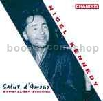 Nigel Kennedy Plays Elgar: Six very easy pieces in the first position Op 22 etc. (Chandos Audio CD)