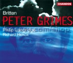 Peter Grimes Op. 33 - complete opera (Chandos audio CD)